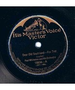 Paul Whiteman Orchestra Dear Old Southland 78 rpm They Call It Dancing V... - $11.38