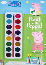 Paint with Peppa! (Peppa Pig) [Paperback] Golden Books - $5.85