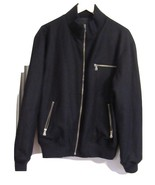 DANIEL CREMIEUX-COLLECTION MEN JACKET M-NAVYBLUE REVERSIBLE WOOL BLEND NEW - $249.90