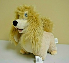 Disney Store Authentic Peg Pekingese Dog Stuffed Plush Lady and the Tram... - $59.39