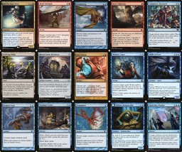 Wombo Combo   MTG Magic The Gathering Blue Red 60 Card Intro Deck Lot - $18.99