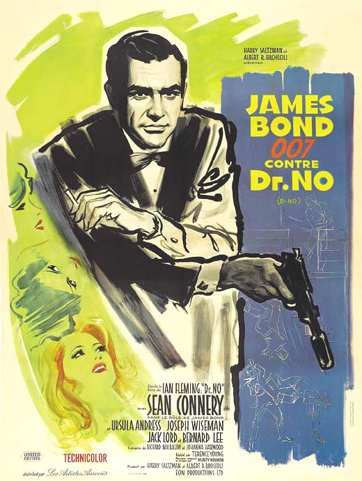 Dr no movie poster french