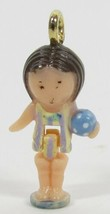 1993 Polly Pocket Dolls Vintage Beach Time Fun Lulu Charm Bluebird Toys - $8.00