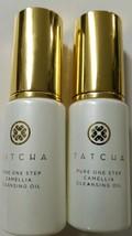 2 Tatcha Pure One Step Camellia Cleansing Oil .8oz / 25 ml - NO Box - $16.54