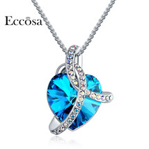 Trendy Necklaces & Pendants Forever Love Heart Necklace Woman Jewelry Ma... - $31.32