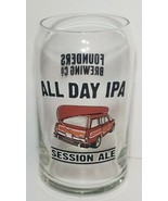 Founders Brewing All Day IPA Beer round top Glass classic car canoe art - $14.01