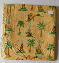 Fabric Michael Miller, Bombay Monkey, Asian Indian Inspired Pattern, 43 W 1 Yd - $5.99