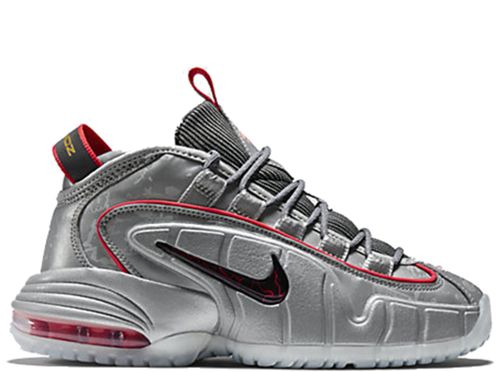 Youth US 7 Gray Sneakers UK 6 GS NIKE Air Penny 5