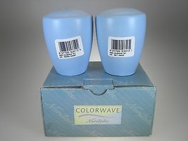 Noritake Colorwave Sky Salt & Pepper NEW IN BOX - $13.06