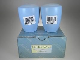 Noritake Colorwave Sky Salt & Pepper NEW IN BOX - $17.36 CAD