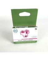 Lot of 5 Dell Series 31 Ink Cartridge Magenta FPWWW (V525w V725w) Authen... - $74.25