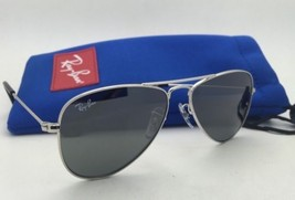 Junior Collection Kids Ray-Ban Sunglasses RJ 9506-S 212/6G Silver w/ Grey Lenses - $79.95