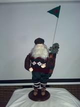 Classic Collectibles Golfing Santa 1997 Nice Vintage Christmas Santa W/C... - $29.45