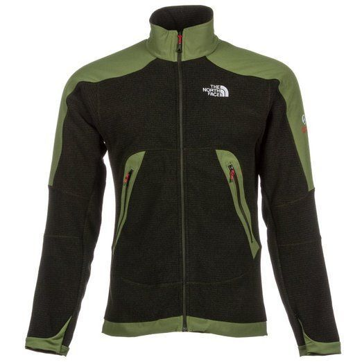THE NORTH FACE NWT MENS GREEN ZIPPER FRONT REVOLVER JACKET SZ S SMALL 7297