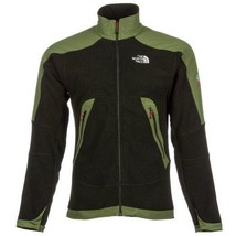 THE NORTH FACE NWT MENS GREEN ZIPPER FRONT REVOLVER JACKET SZ S SMALL 7297 - $92.56