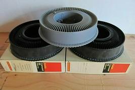 Kodak Slide Carousels - Kodak 80 Slide Trays - Lot of 3 - 2 original boxes (337) - $25.73