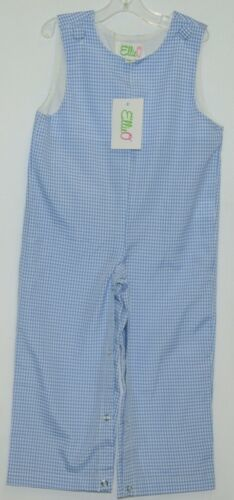 Ellie O Gingham Full Lined Longall Size 18 Months Color Blue
