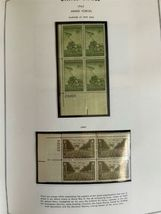 MNH 1938-1984 US Plate Block Collection Stamp Album Harris United States USA image 8