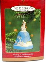 Hallmark Ornament QX8386 Journey to Bethlehem Bell - $14.85
