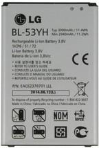 Genuine LG BL-53YH Battery 3000mAh for G3 VS985 F400 D850 D855 - $6.92