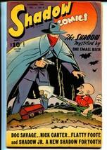 Shadow Vol.6 #9-1st Shadow Jr-Doc Savage-Nick Carter-VG+ - $200.06