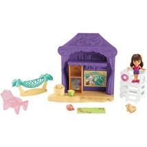 Fisher-Price Nickelodeon Dora and Friends Playa Verde Cabana Playset Bra... - $24.99