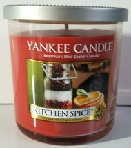 Yankee Candle Retired Kitchen Spice 7oz Jar 1 Wick Candle Burn Time: 35-... - $22.74