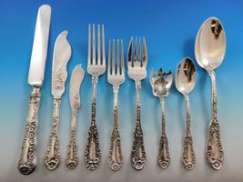 Number 10 by Dominick Haff Sterling Silver Flatware Set Service 159 pcs Dinner - $18,995.00
