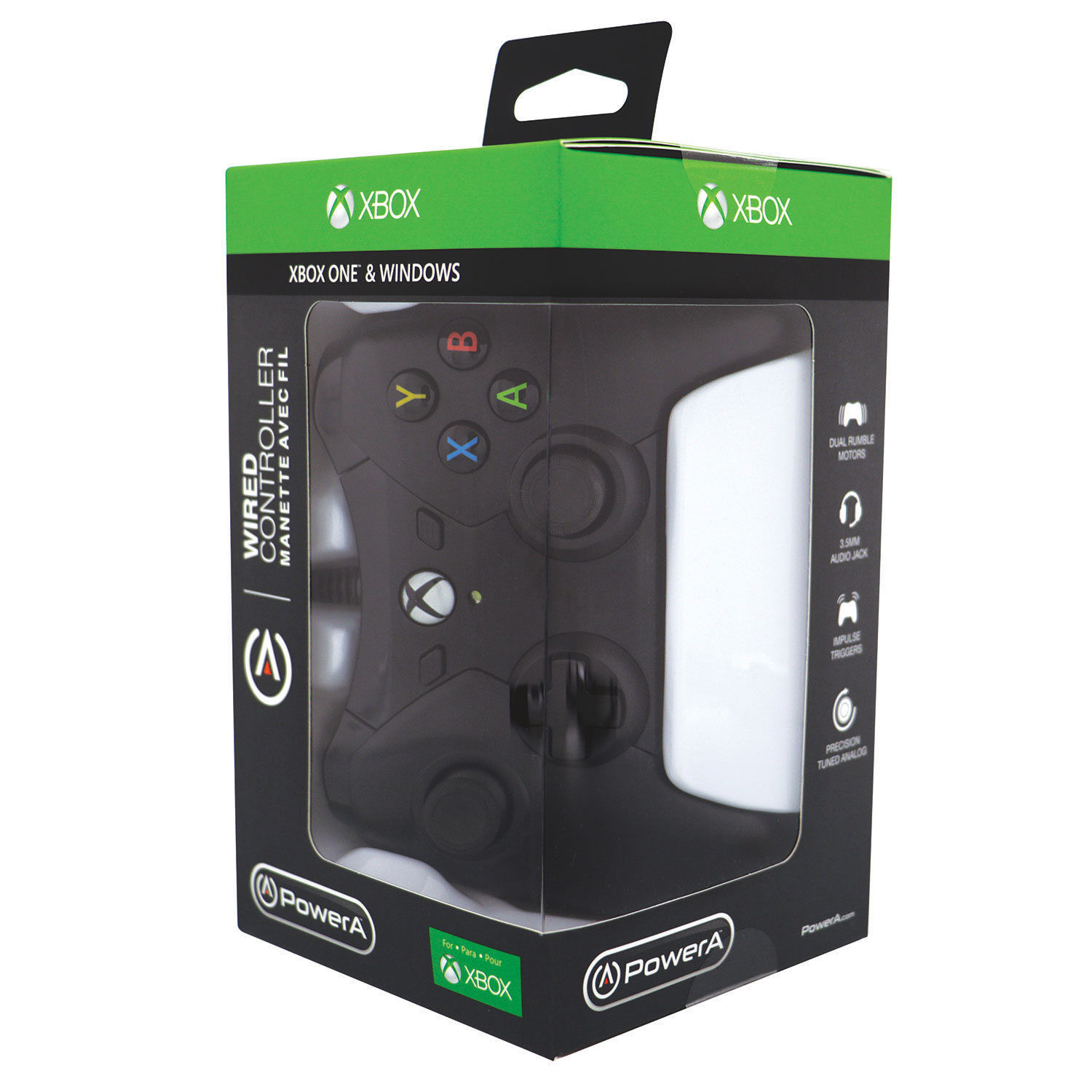 PowerA Black Wired Controller for Xbox One [Brand New] Power A Gamepad