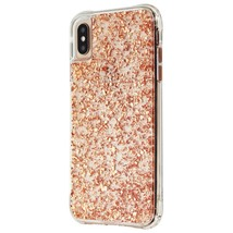 Case-Mate Karat Series Case for Apple iPhone XS Max - Rose Gold / Clear - $32.95