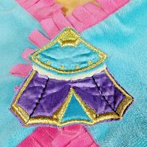 Disneyland Disney Babies Blanket for Dumbo Plush Blue Pink Yellow Fringe Wrap image 6