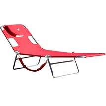 Ostrich Chaise Lounge, Red - $55.59