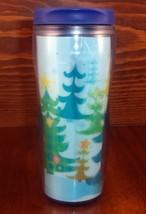 STARBUCKS COFFEE CO 2006 Lenticular Travel Tumbler Christmas Motion 16 o... - $28.63