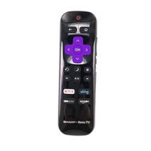 New Original For Roku Sharp LC-RCRUS-17 TV Remote Control Netflix HBO Am... - $9.27
