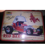 revell monogram red baron classic hot rod limited edition with tin - $57.99