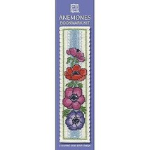 """Anemones"" Counted Cross Stitch Bookmark Kit Free P+P Textile Heritage - $9.90"