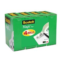 Scotch Magic Tape, Numerous Applications, Invisible, Cuts Cleanly, Engin... - €8,12 EUR
