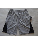 Spalding True to the Game Regular Fit Athletic Shorts Size Large Light G... - $9.75
