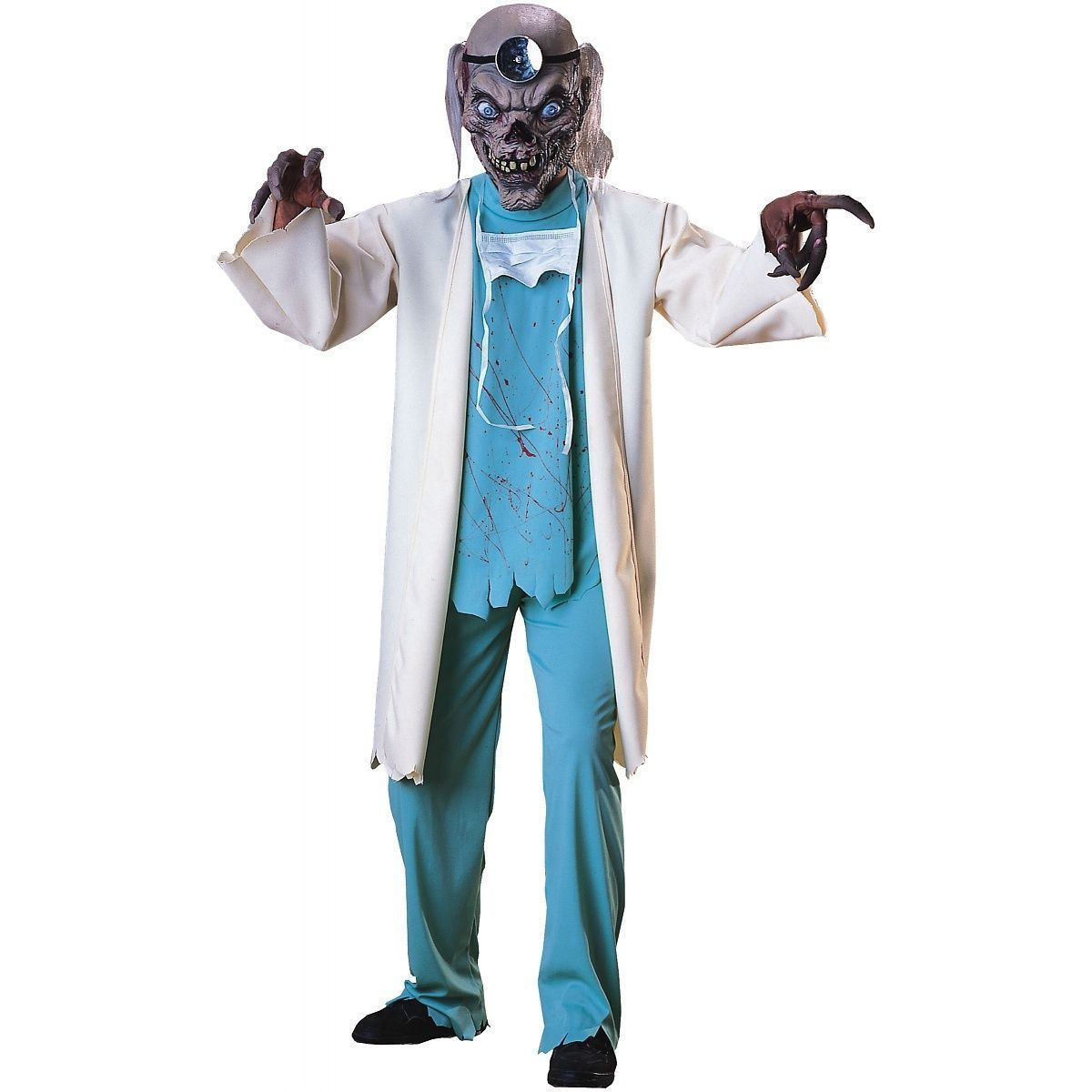 Crypt Keeper Costume Adult Scary Doctor Halloween Cosplay