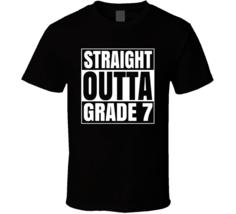 Straight Outta Grade 7 School Compton Style T Shirt - $19.99