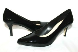 ❤ Cole Haan Valeria Black Patent Leather Cushioned Pumps 8.5 M very good... - $44.26