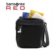 Samsonite Red Excursion Bag Crossbody Boyfriend Z3409054 Travel Unisex H... - $129.00