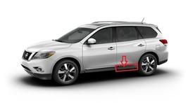 Pathfinder 2013-2017 OEM Rear Left Door Lower Rocker Molding Driver Side - $112.19