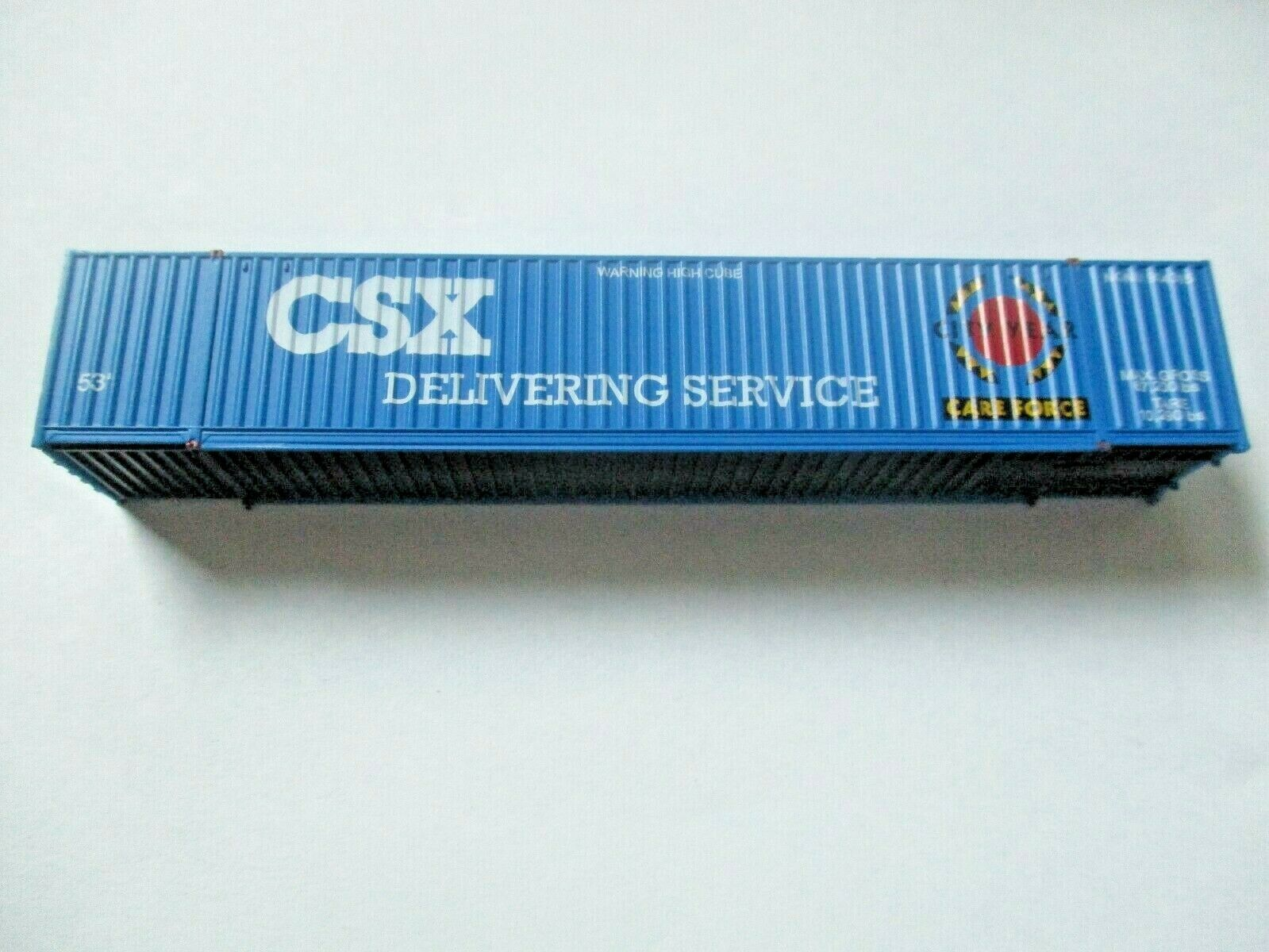 Jacksonville Terminal Company # 535035 CSX- City Year 53' Container (N)