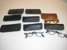 (2) Pairs Vintage Glasses (1) pair of Womens Sunglasses & xtra Cases - $46.28