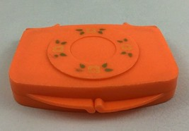 My Pretty Purse Orange Pocket Mirror Toys Vintage 1989 Fisher Price Repl... - $17.77