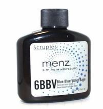 Scruples Menz 5 Minute Haircolor - 6BBV Charcoal Blue Blue Violet Base 2oz