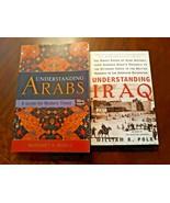 Lot of 2 Books : Understanding Arabs Iraq Margaret K. Nydell William R. ... - $12.47