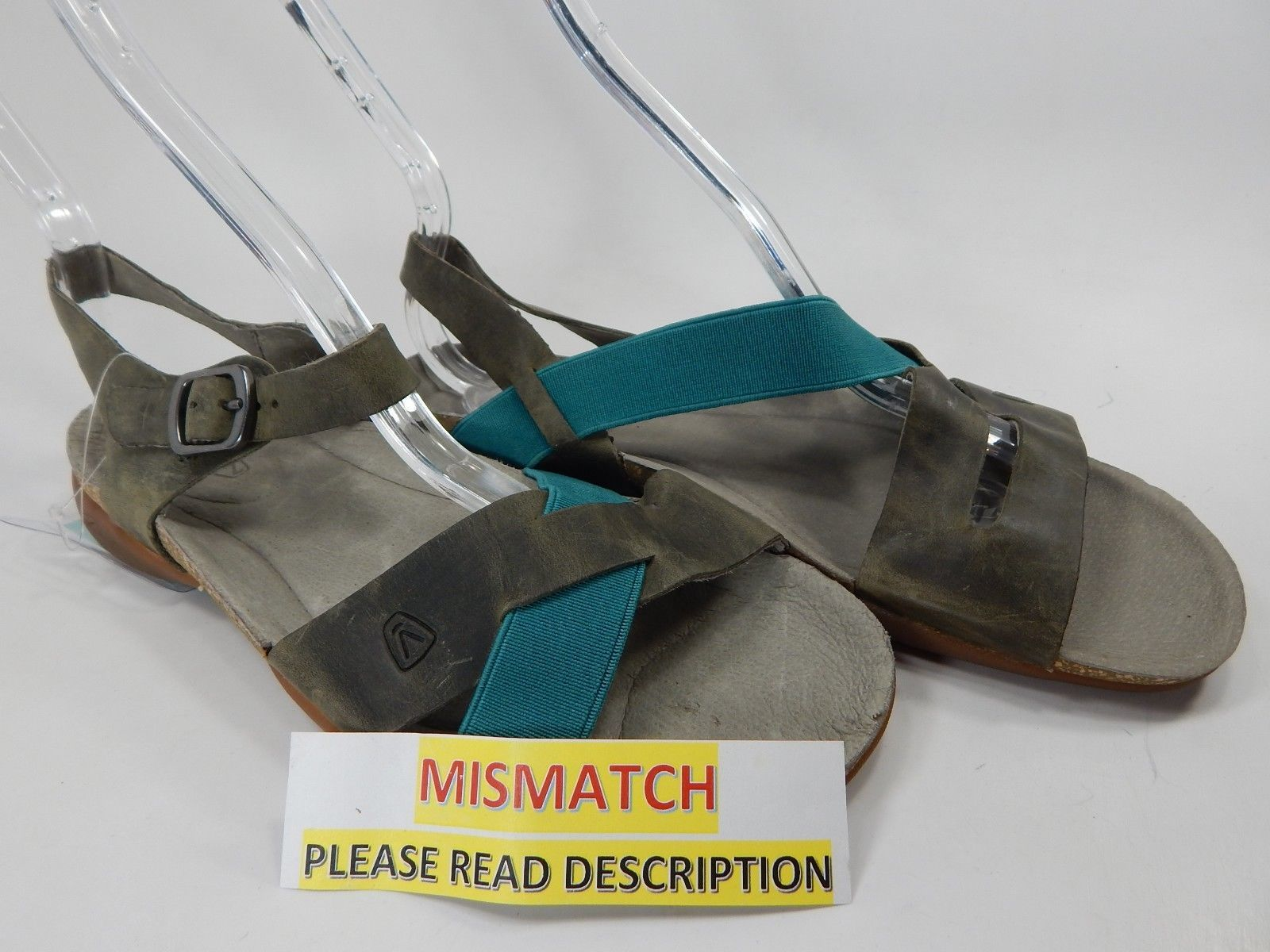 MISMATCH Keen Dauntless Strappy / Ankle Women's Sandals Size 7 M PLEASE READ!!!