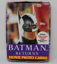 Batman Returns The Movie Trading Card Wax Box No X Nice! - $13.87
